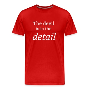 The devil is in the detail - Men's Premium T-Shirt