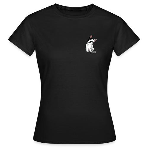 T-shirt Femme - top,tee-shirt,sucette,mode,haut,garçon,french,français,fille,femme,enfant,bulldog,bouledogue,body