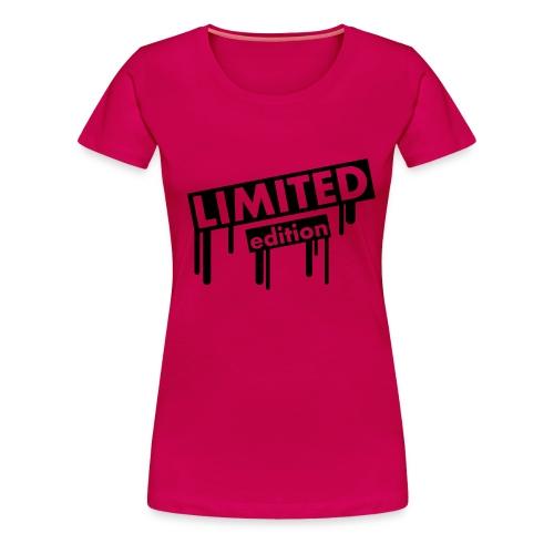 Limited Edition - Vrouwen Premium T-shirt