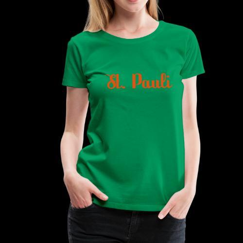 St. Pauli Logotype - Frauen Premium T-Shirt