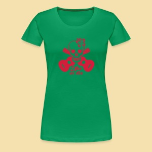 XL-Girlshirt: Uke or die for women (Motiv: rot) - Frauen Premium T-Shirt