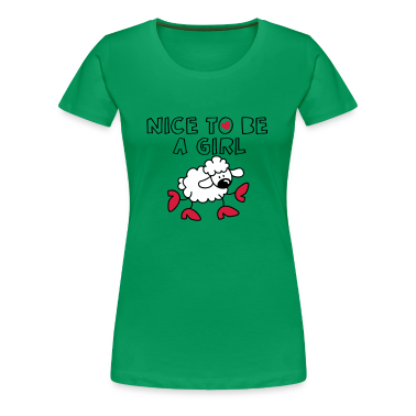 Nice to be a girl T-Shirts