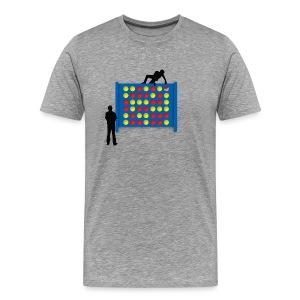 Connected - Ash - Men's Premium T-Shirt