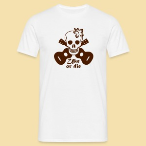 Menshirt: Uke or die for women (Motiv: braun) - Männer T-Shirt