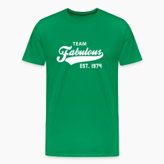 TEAM Fabulous Est. 1974 Birthday Anniversary T-Shirt WG