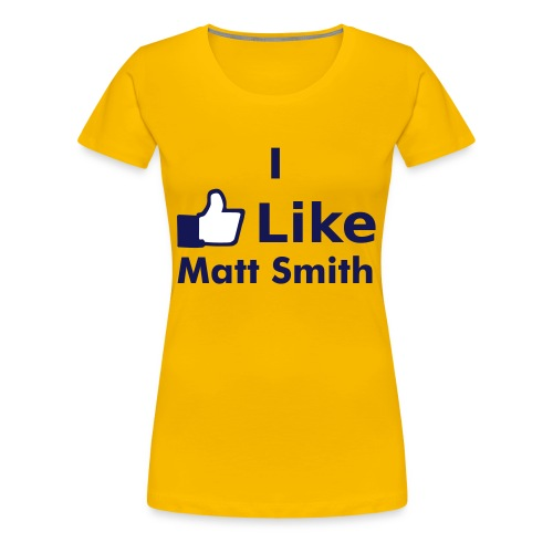 Matt Smith Women's T-Shirt - Women's Premium T-Shirt