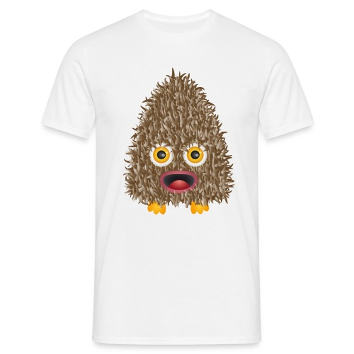Funshirt Wuschelmonster Eule - Männer T-Shirt