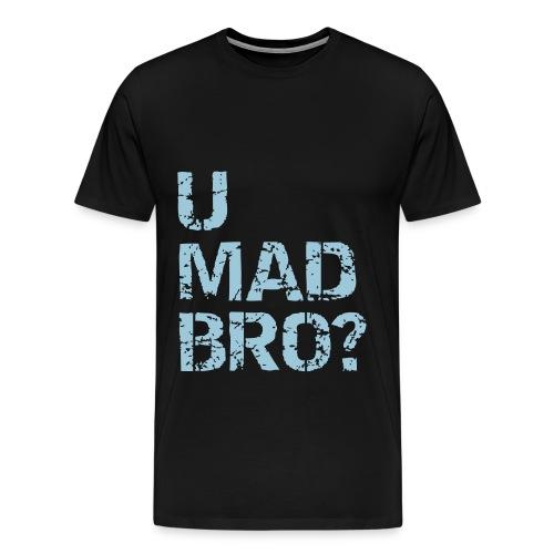 umadbro tshirt - Herre premium T-shirt