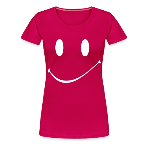 Smile - Girlie - Frauen Premium T-Shirt