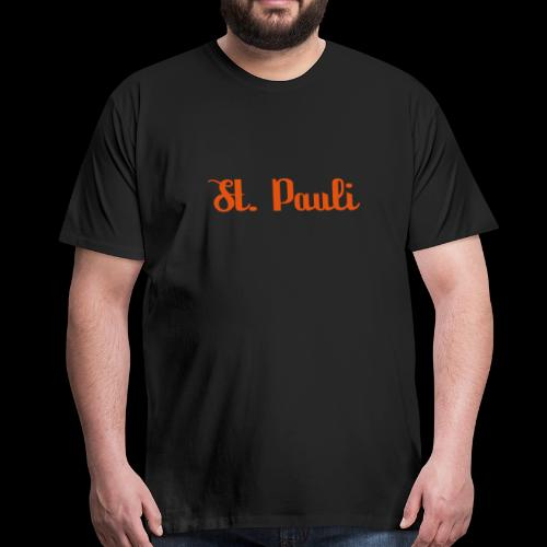 St. Pauli Logotype - Männer Premium T-Shirt