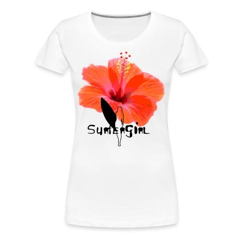 Hawaii Style - Frauen Premium T-Shirt