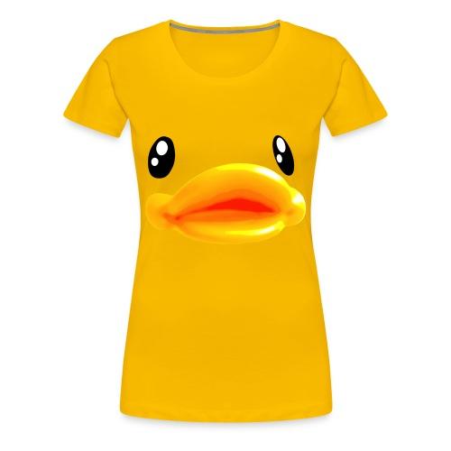 i'm a duck - T-shirt Premium Femme