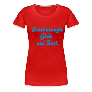 Scarborough Girls red - Women's Premium T-Shirt