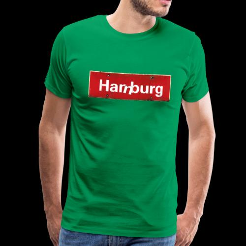 Hamburg oder Harburg? Beides! - Männer Premium T-Shirt