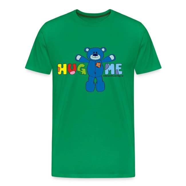 Men's Classic Hug ME T-Shirt +LDIFME Logo