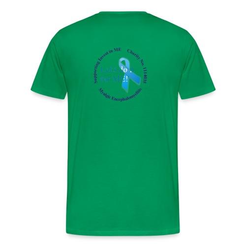 Men's Classic Hug ME T-Shirt +LDIFME Logo - Men's Premium T-Shirt