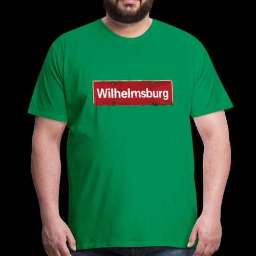 Wilhelmsburg zeigt Flagge - Männer Premium T-Shirt