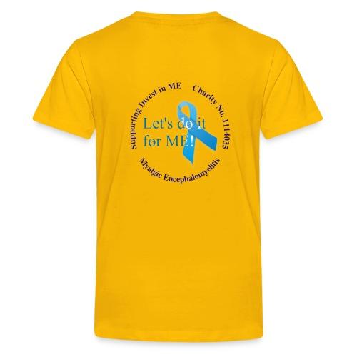 Teenager Classic Hug ME T-Shirt +LDIFME Logo - Teenage Premium T-Shirt