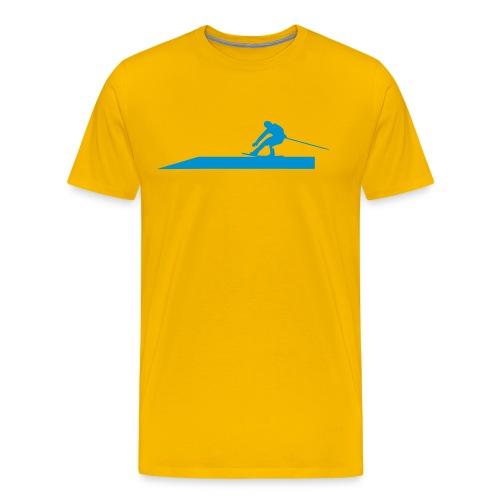Wakeborder Nr.1 - Männer Premium T-Shirt