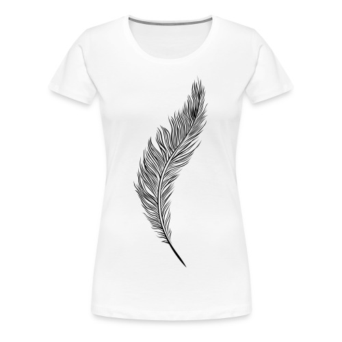 Feather  - Women's Premium T-Shirt