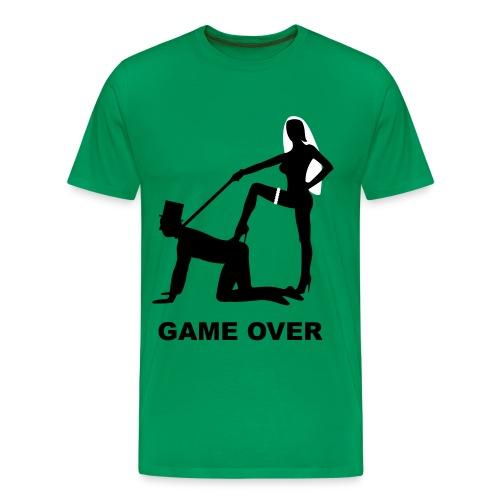 Herre Game Over - Herre premium T-shirt