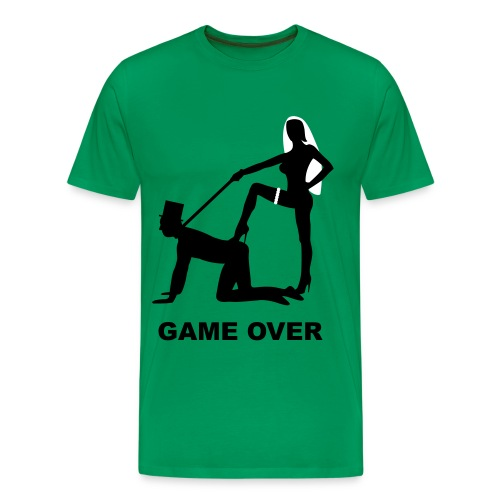Herre Game Over - Herre premium T-shirt