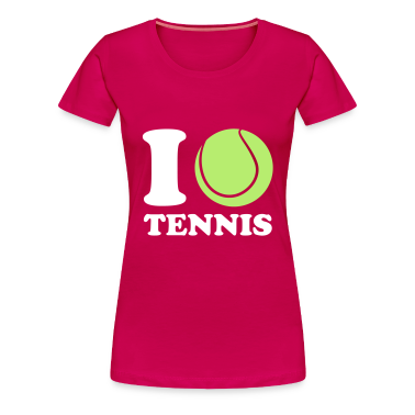 I Love Tennis T-Shirts