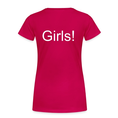 Who Run The World? Girls! - Vrouwen Premium T-shirt