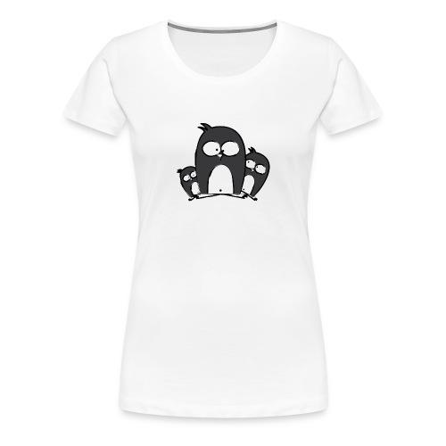 Pinguine_Girls - Frauen Premium T-Shirt
