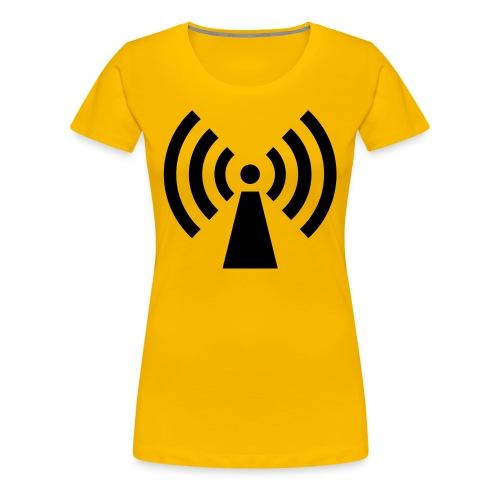 Spread the signal - Women's Premium T-Shirt