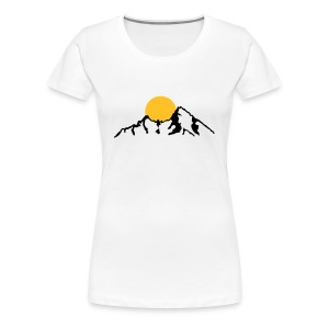 Tiroler Berge - Frauen Premium T-Shirt