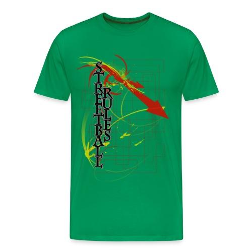 Streetball Rules - Männer Premium T-Shirt