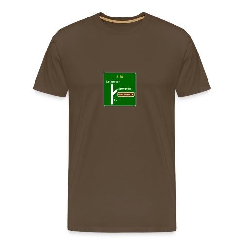 Springfield - Men's Premium T-Shirt