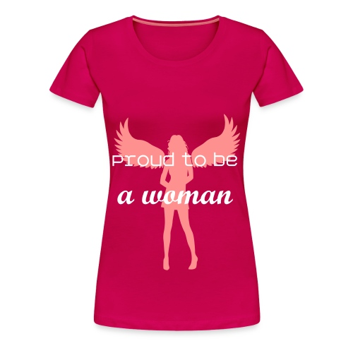 Proud to be.. - Vrouwen Premium T-shirt