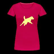 T-shirts ~ Premium-T-shirt dam ~ Artikelnummer 20889341