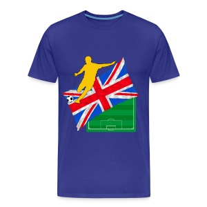 uk football t-shirt - Men's Premium T-Shirt