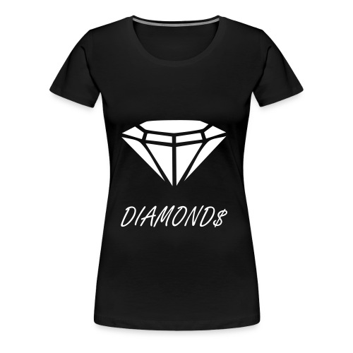 ''DIAMOND$ Collectie'' T-Shirt - Vrouwen Premium T-shirt
