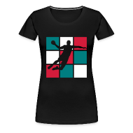 Tee shirts ~ T-shirt Premium Femme ~ TS Handball, allez les bleus