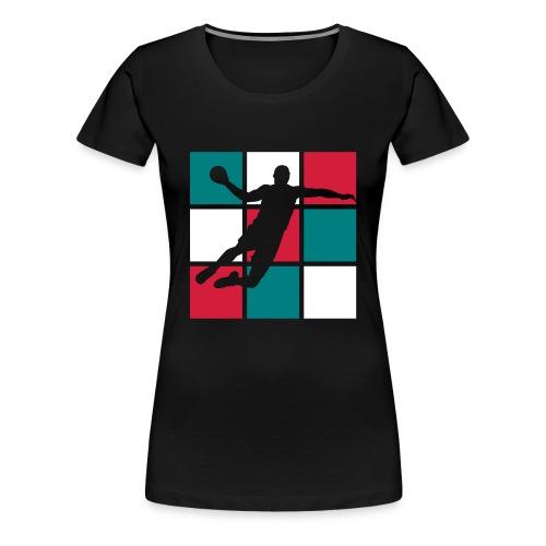 TS Handball, allez les bleus - T-shirt Premium Femme