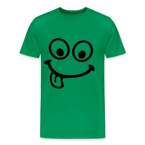T-Shirt Smiley - Männer Premium T-Shirt