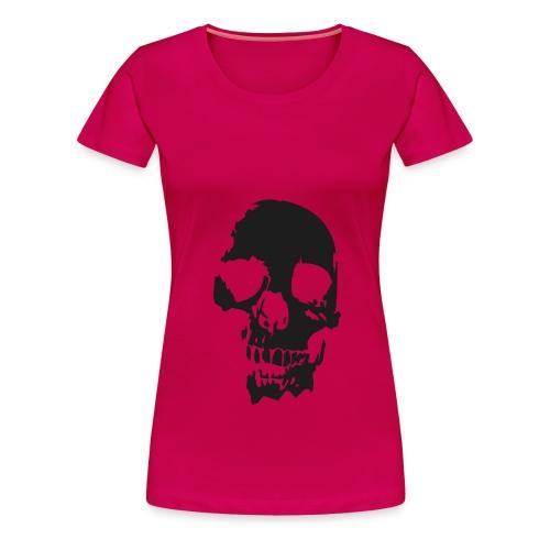 Girl skull - Frauen Premium T-Shirt