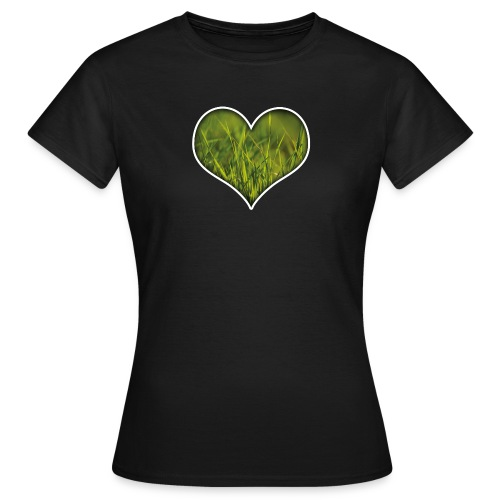 Herz Shirt für die Damenwelt - Frauen T-Shirt