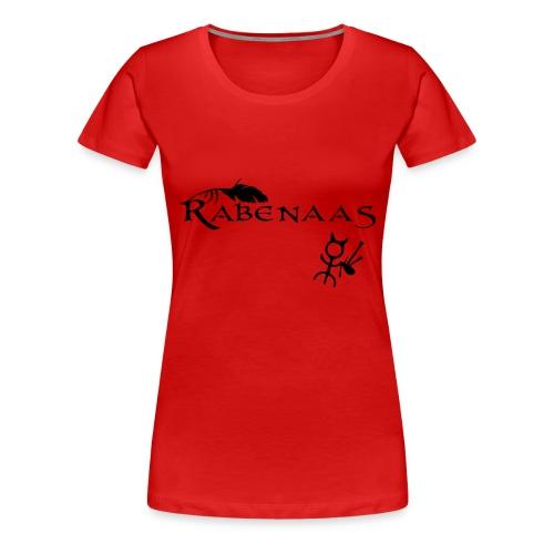 Rabenaas Lady - Frauen Premium T-Shirt