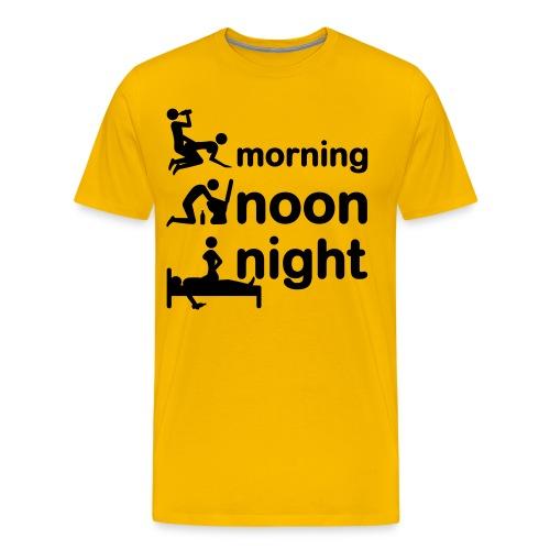 morning-night - Männer Premium T-Shirt