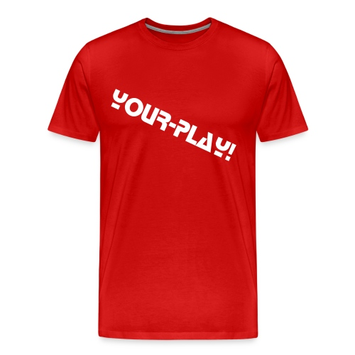 YourPlay normaal T-Shirt ROOD - Mannen Premium T-shirt