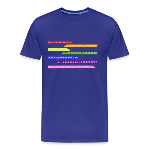 Colour Trains - Men's Premium T-Shirt
