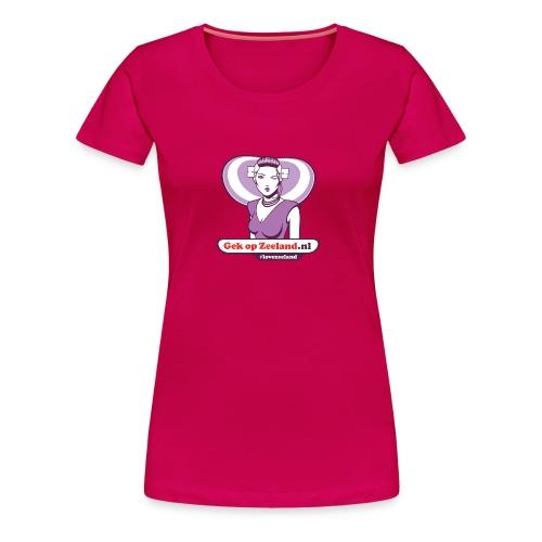 Speciael vo trotste wuuven. #lovezeeland - Vrouwen Premium T-shirt