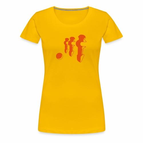 Kicker-Shirt Girl - Frauen Premium T-Shirt