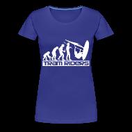 Tee shirts ~ Tee shirt Premium Femme ~ bleu royal femme