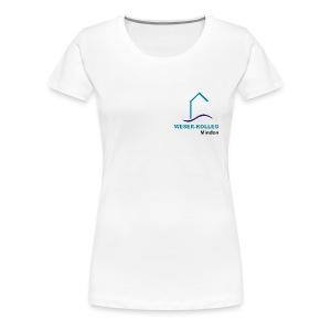 Girl Shirt mit kleinem Logo - Frauen Premium T-Shirt